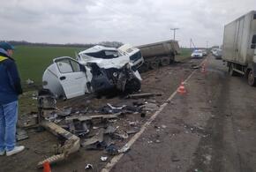 В ДТП под Краснодаром погиб водитель «Газели»