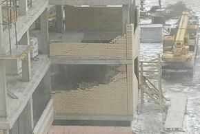 В Новороссийске ураган разрушил строящуюся школу