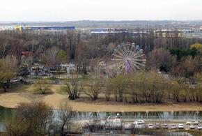 В парке «Солнечный остров» в Краснодаре произошел пожар