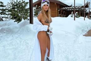 В Сочи певица Ханна дефилировала в леопардовом бикини