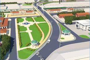 В Усть-Лабинске показали как будет выглядеть новая автомобильная эстакада
