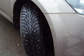 Автомобилистам будут выписывать штрафы за резину не по сезону