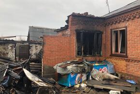На Кубани в пожаре погиб пенсионер
