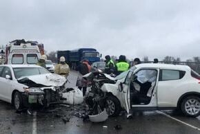 В Краснодарском крае в массовом ДТП погибла женщина-водитель