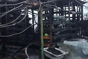В Сочи рано утром горел частный дом
